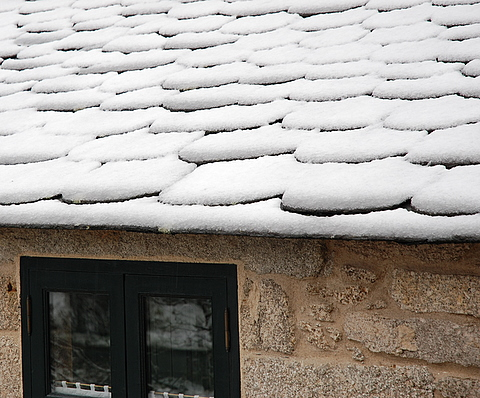 Neve no tellado