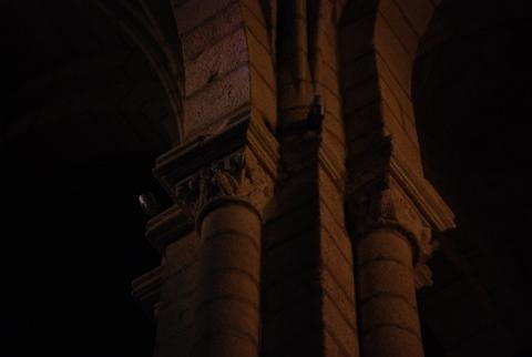 A sombra do templo