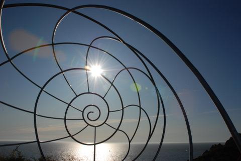 Espiral de solpor