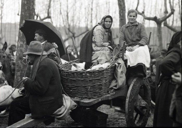 Na feira de Betanzos, 1926